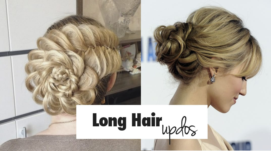 List Of 28 Easy Yet Stylish Updos For Long Hair + Images