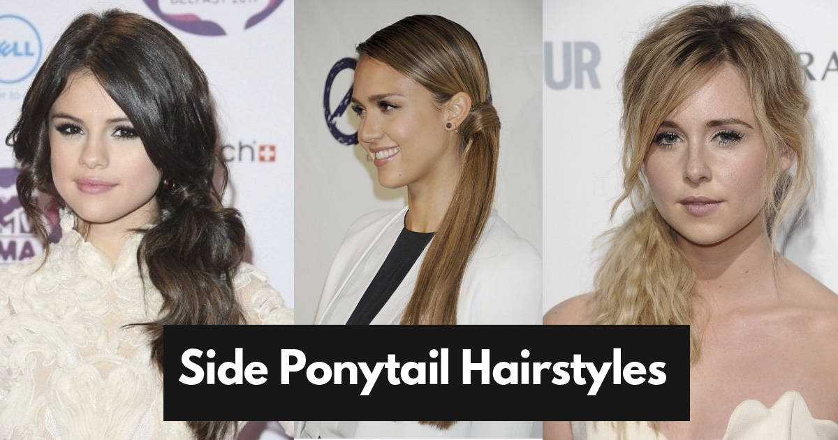 14 Stunning Side Ponytail Hairstyles For Medium Hair + Tutorial