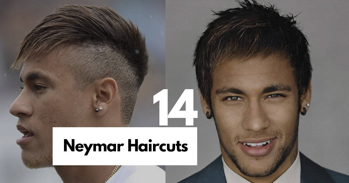 14 Best Neymar Hairstyles Haircuts Ideas With Picture