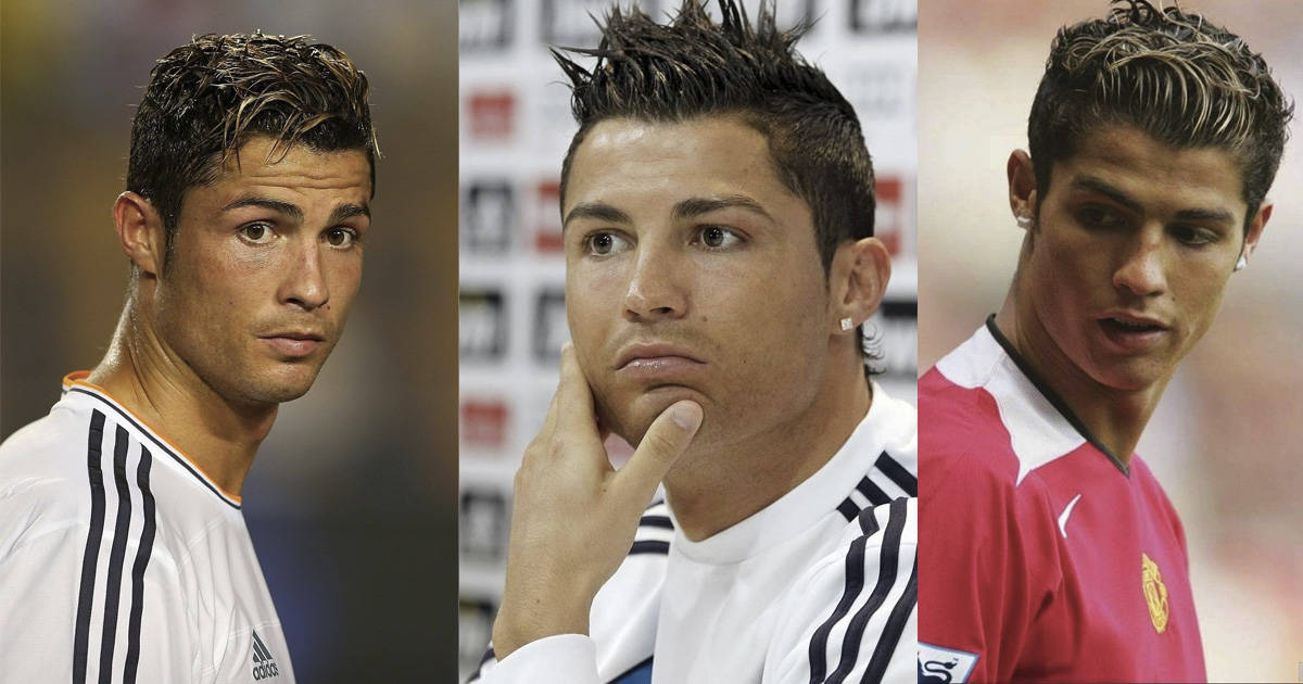 15 Top Cristiano Ronaldo Haircuts You Should Try Hairstylesfeed