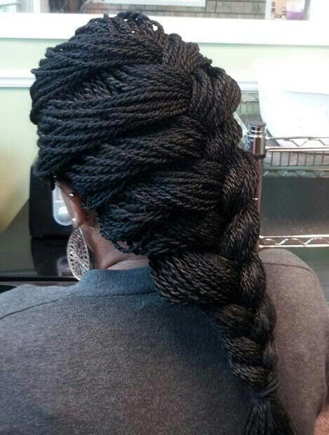French Braid crochet