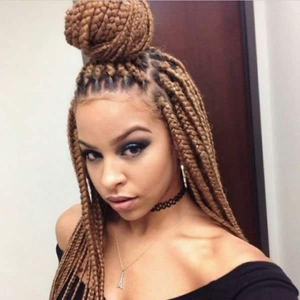 33 Short Amp Long Crochet Braids Hairstyles 2018 How To Video