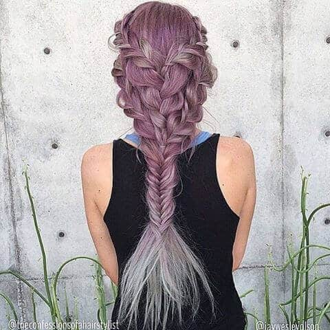 Mermaid Fishtail Hairstyle