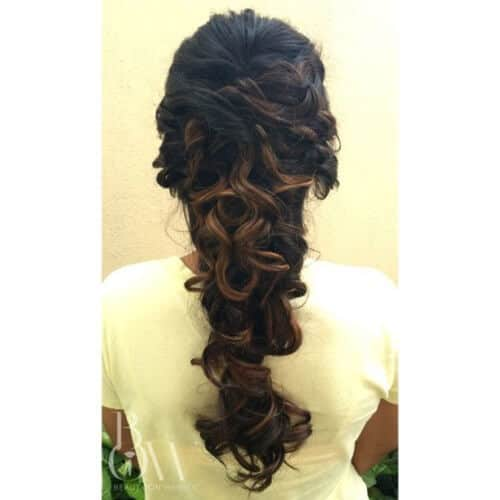 Strands & Waves Mermaid Hairdo
