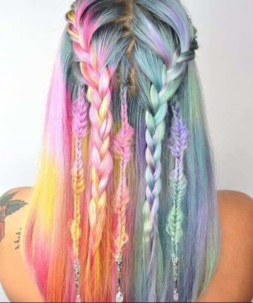Dreamcatcher Mermaid Hairdo