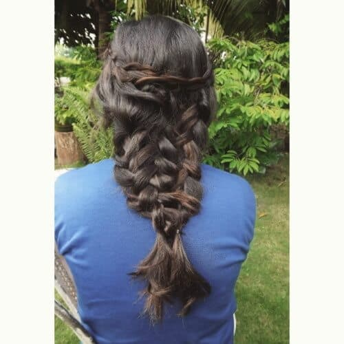Wide Mermaid Plait