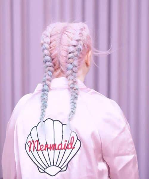 Mermaid Hairdo For School Goers