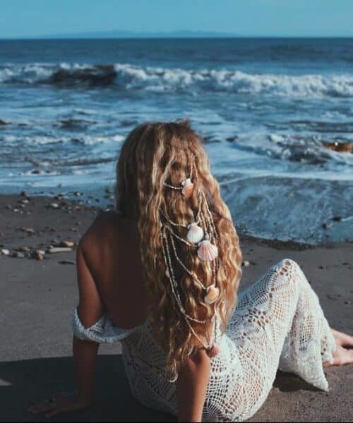 Natural mermaid locks