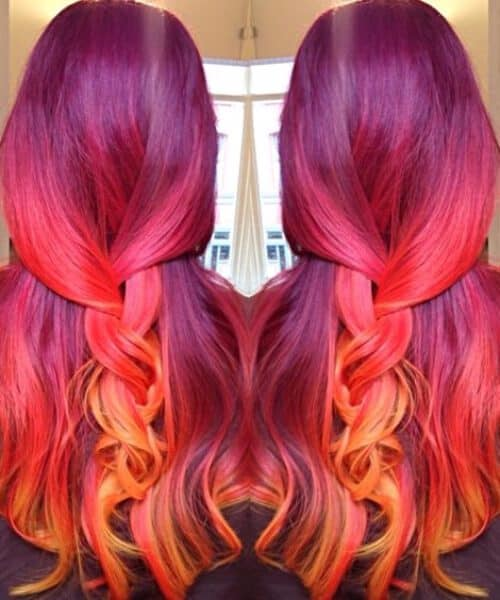 Mermaid Ombre Sunset