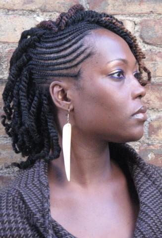 Nubian Twist Hairstyles For Long Short Hair With Braids 2018