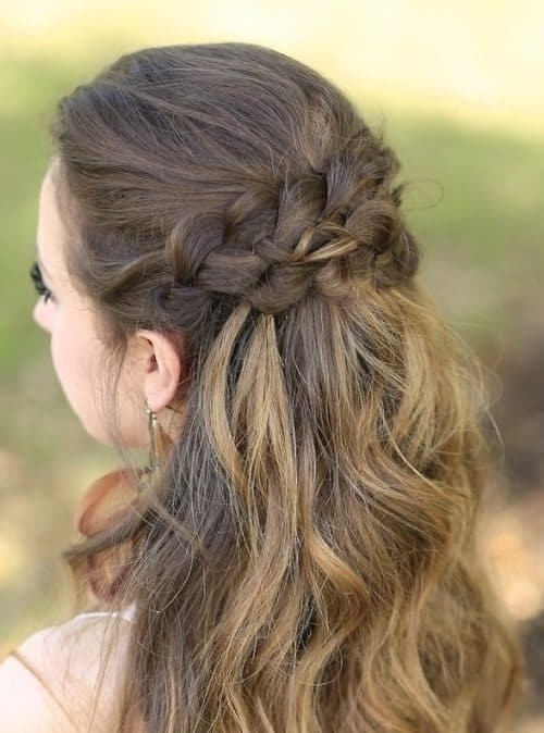 14893 Half Up Half Down Hairstyles For Wedding Prom Etc Video Added