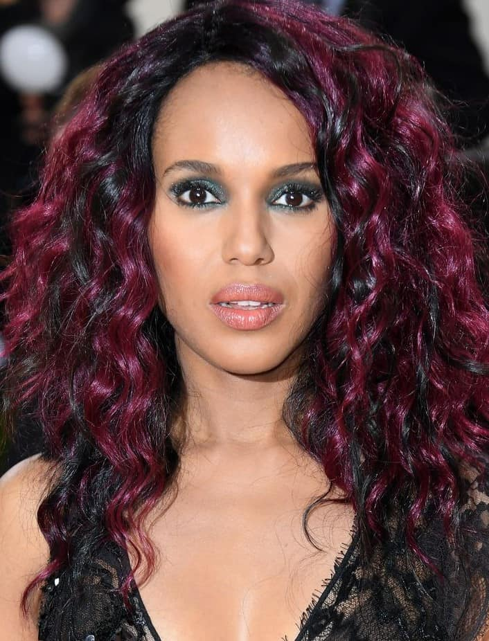 34 Elegant Burgundy Hair Ideas For Straight Waves Curls