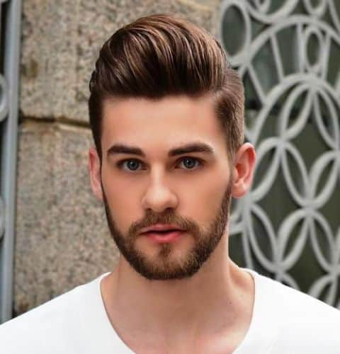 21 Amazing Pompadour Haircut + Hairstyles 2018 + Video Tutorial