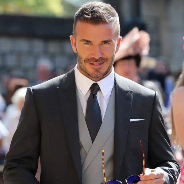 Wedding Haircut Men: 31 Best Selected David Beckham Hairstyles + Haircut 2018