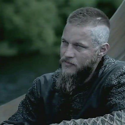 Crew Cut In a Viking Style Viking