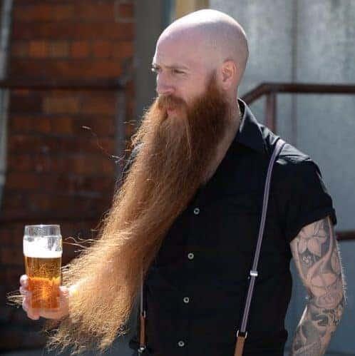 Bald with Long Beard Viking