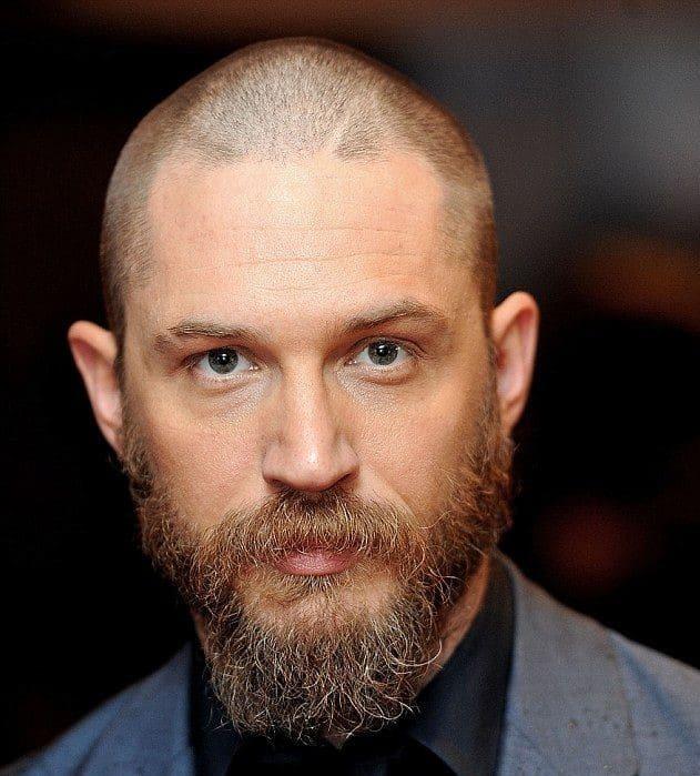 Buzz Cut with a Hair tattoo Viking